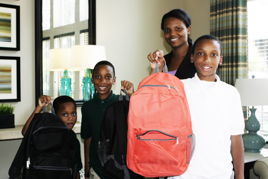 Columba Residential's Back to School Event 2014