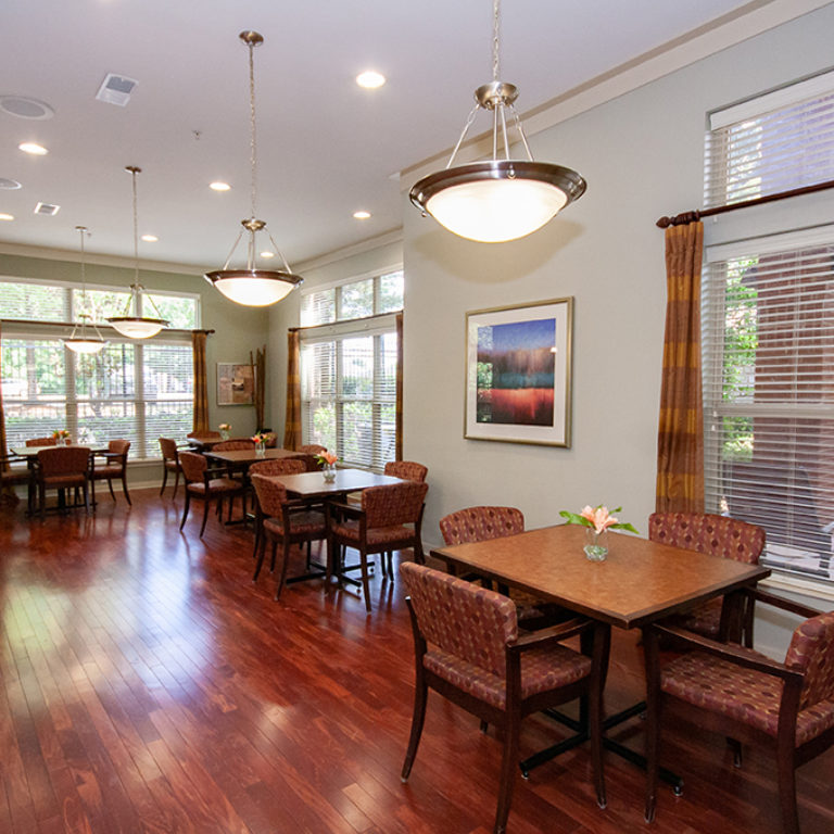Community room at Columbia Blackshear Senior Residences - Senior Apartments in Atlanta, GA