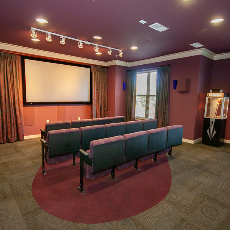 Community theater at Columbia Blackshear Senior Residences - Senior Apartments in Atlanta, GA