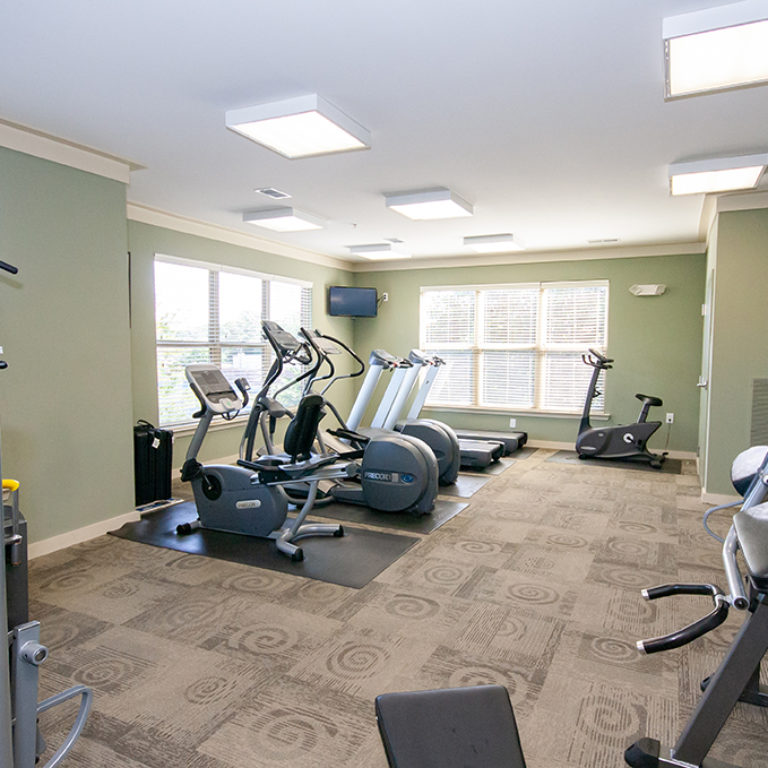 Fitness Center at Columbia Blackshear Senior Residences - Senior Apartments in Atlanta, GA