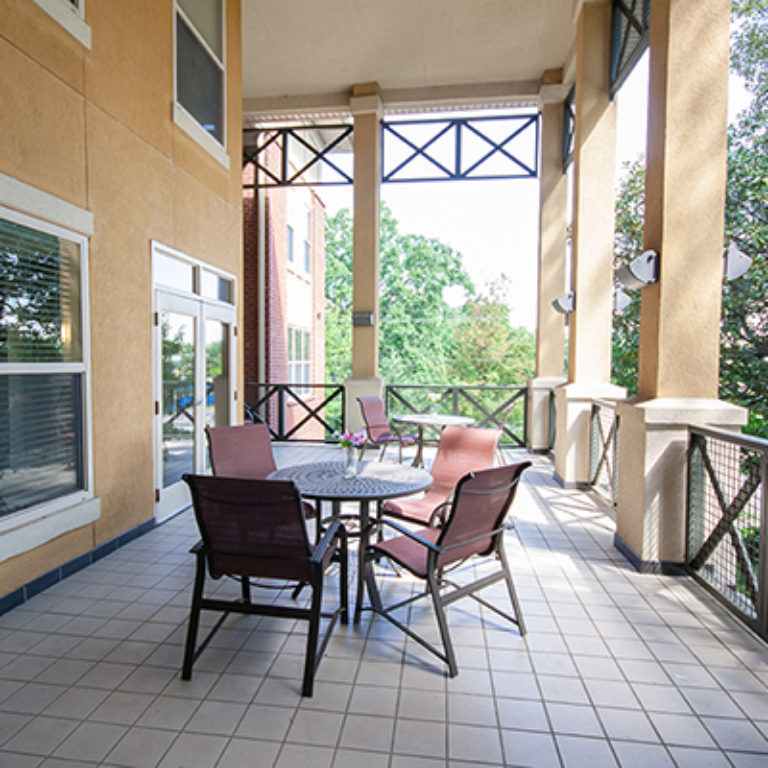 Sitting areas at Columbia Blackshear Senior Residences - Senior Apartments in Atlanta, GA