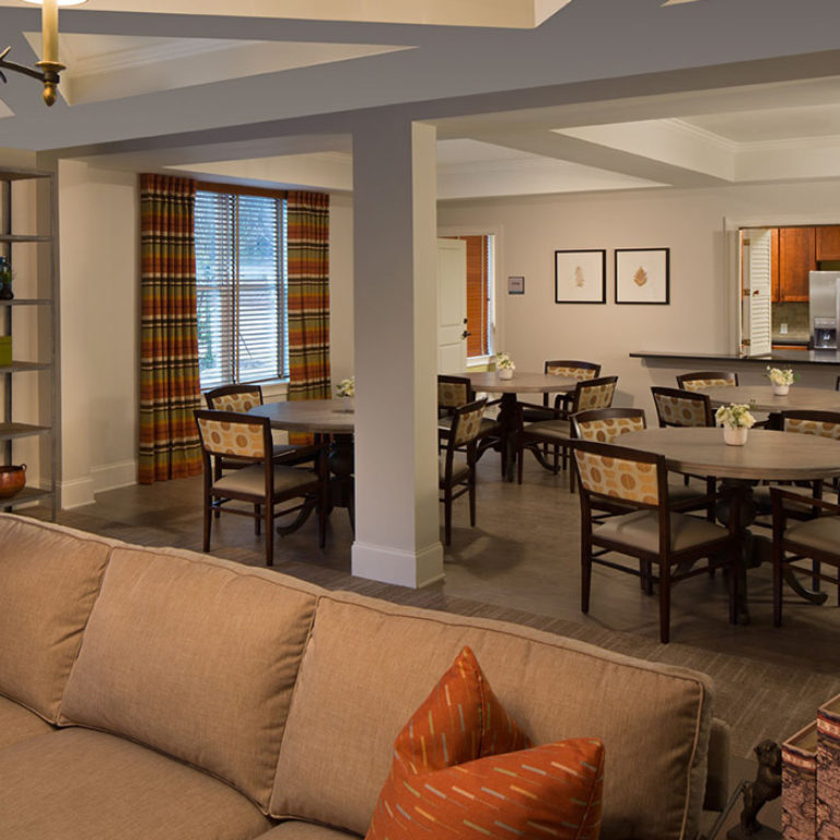 Community room at Columbia Brookside Senior Residences - Senior Apartments in Athens, GA