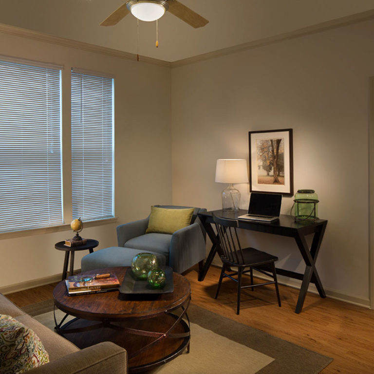 Living space at Columbia Brookside Senior Residences - Senior Apartments in Athens, GA