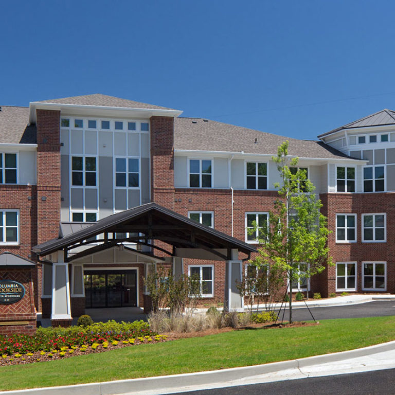 The leasing office at Columbia Brookside Senior Residences - Senior Apartments in Athens, GA