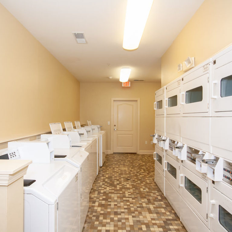 Laundry facility at Columbia Commons - Apartments in Atlanta, GA
