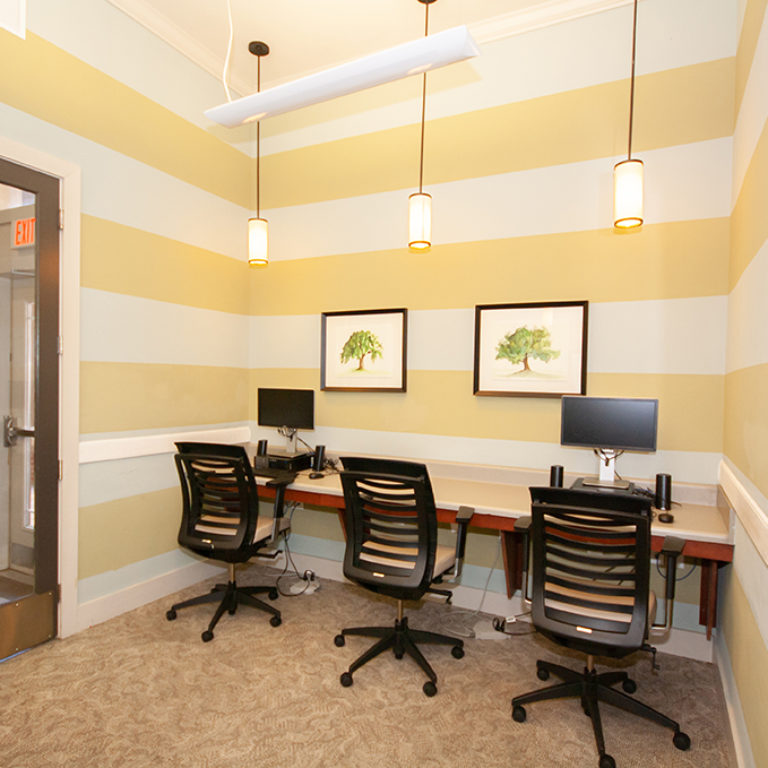 Business Center at Columbia Mill community - Apartments in East Atlanta, GA
