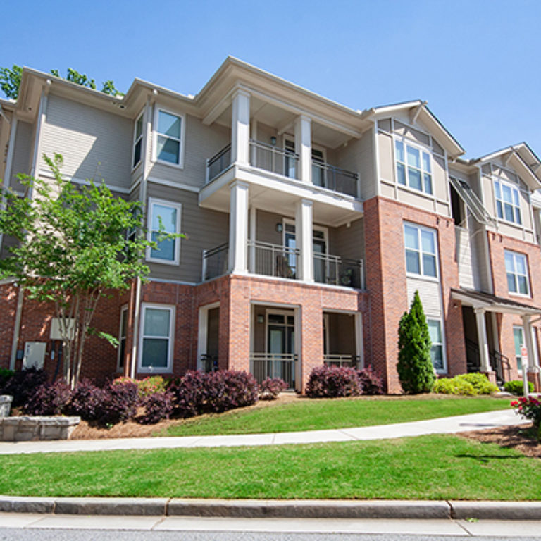 Residence building at Columbia Mill community - Apartments in East Atlanta, GA