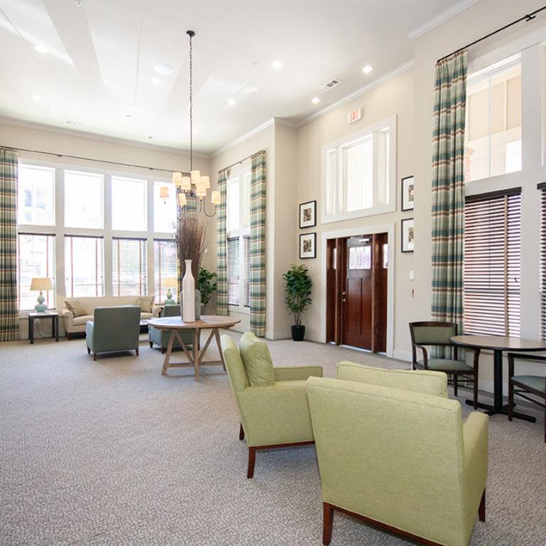 Great room at Columbia Mill community - Apartments in East Atlanta, GA