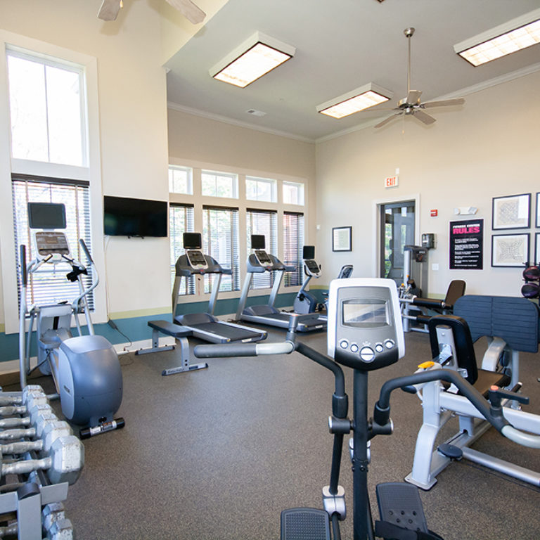 Fitness Center at Columbia Mill community - Apartments in East Atlanta, GA