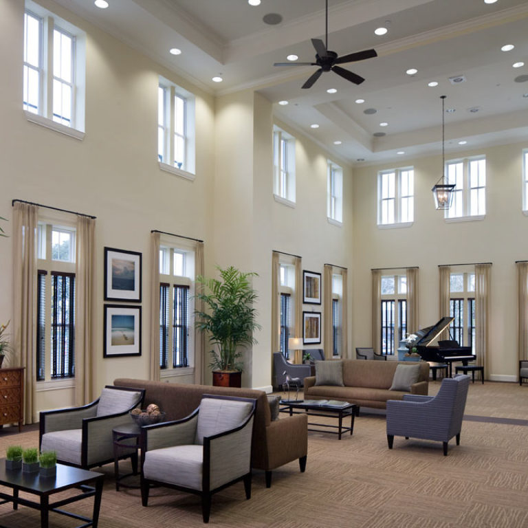 Great room at Columbia Parc at the Bayou District - New Orleans, LA