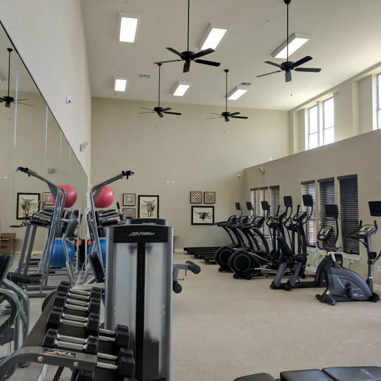 Fitness Center at Columbia Renaissance Square - Fort Worth, TX