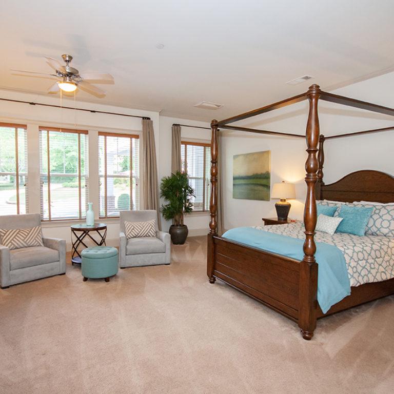 Master suite at Columbia Senior Residences at Forrest Hills - Senior Apartments at Decatur, GA