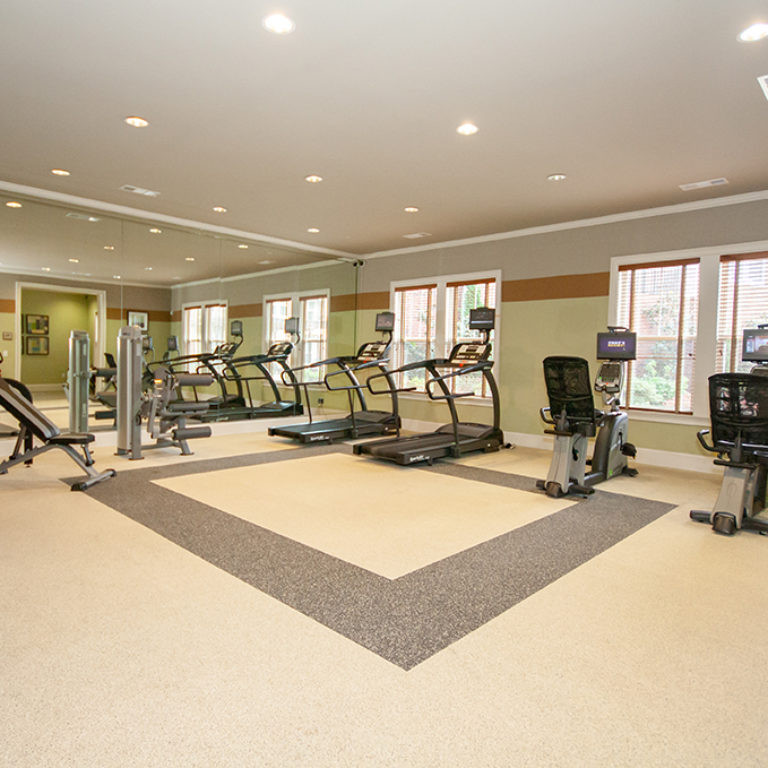 Fitness center at Columbia Senior Residences at Forrest Hills - Senior Apartments at Decatur, GA
