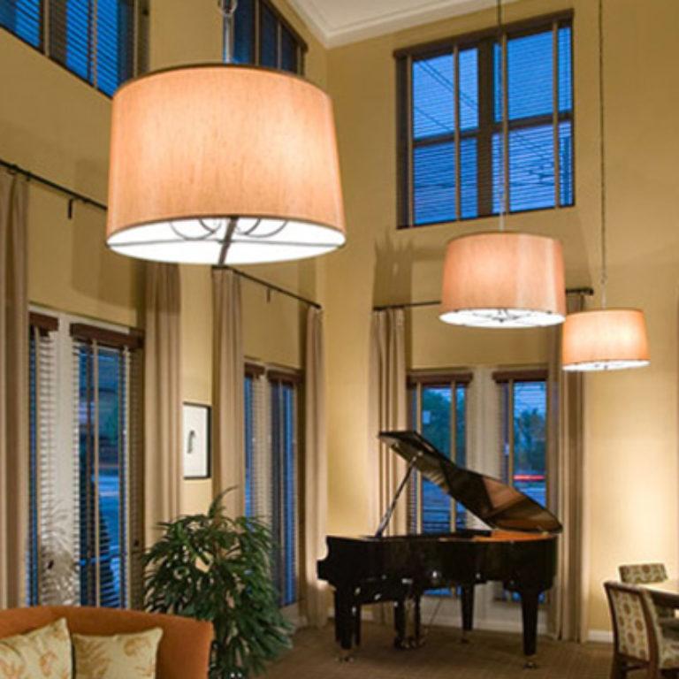 Community room at Columbia Senior Residences at Mechanicsville - Apartments in Atlanta, GA