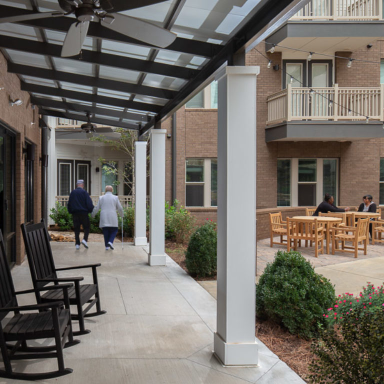 Pavilion at Columbia Senior Residences Community at Decatur East - Senior Apartments in Decatur, GA