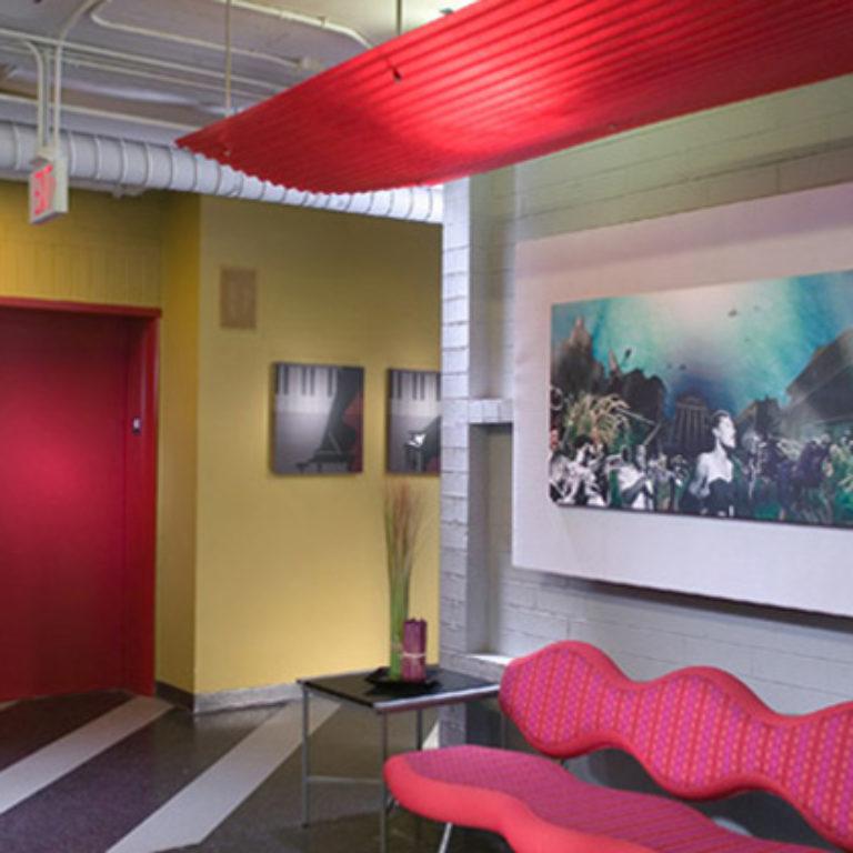 Lobby at Columbia Tower Residences - Apartments in Atlanta, GA