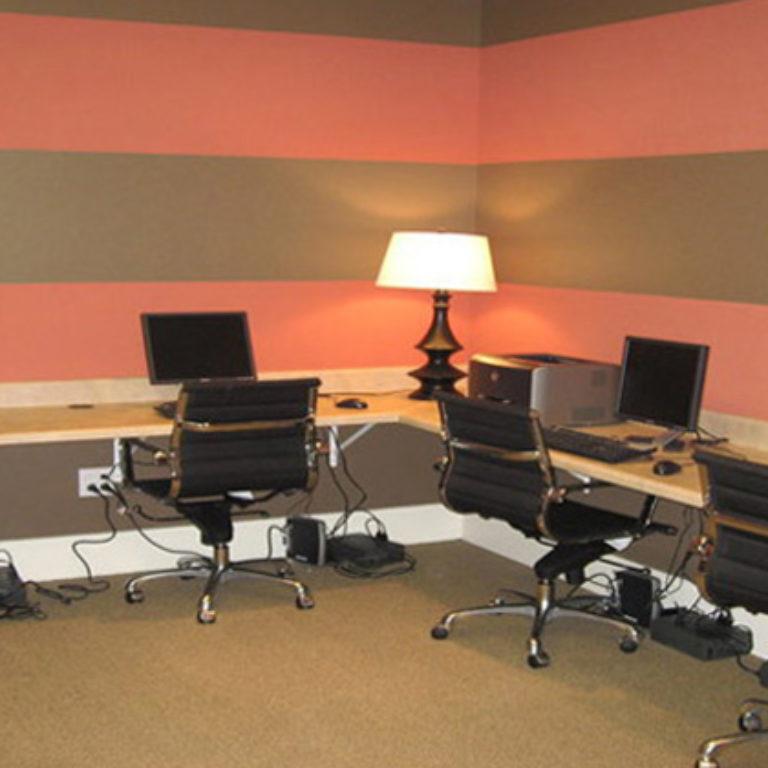 Business center at Constitution Apartments - Apartments in Atlanta, GA