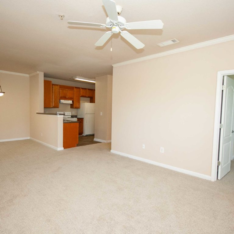 Dining and living room at Constitution Apartments - Apartments in Atlanta, GA