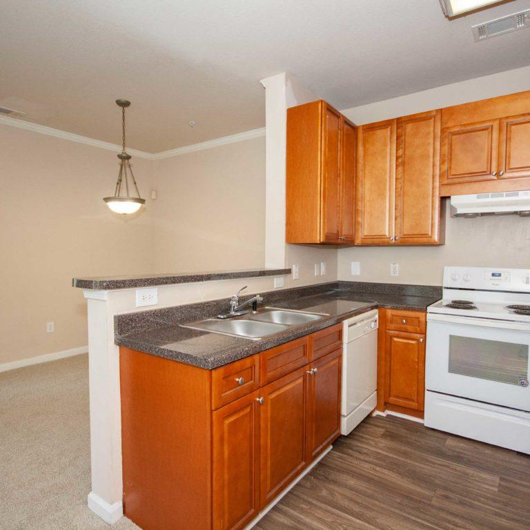 Interior kitchen at Constitution Apartments - Apartments in Atlanta, GA