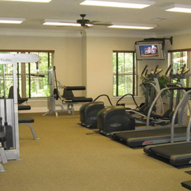 Fitness center at Constitution Apartments - Apartments in Atlanta, GA