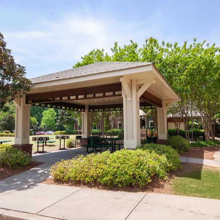 Gazebo and picnic area at Constitution Apartments - Apartments in Atlanta, GA