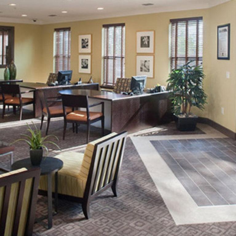 Great room at Columbia Mechanicsville Station- Apartments in Atlanta, GA