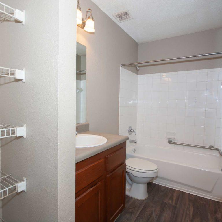 Interior bathroom at Park Commons Apartments Community - Senior Apartments in Atlanta, GA