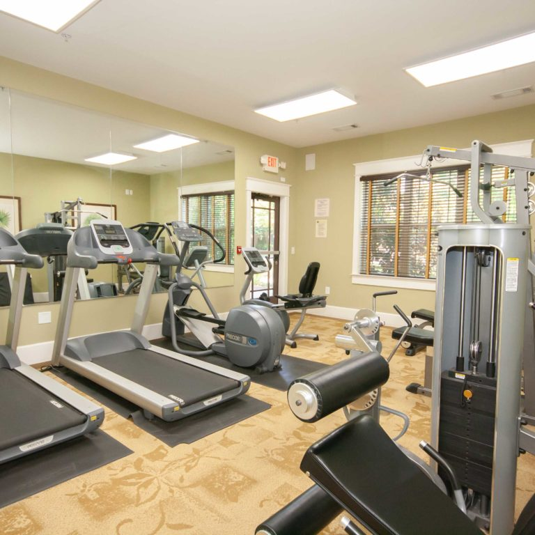 Fitness center at Park Commons Apartments Community - Senior Apartments in Atlanta, GA