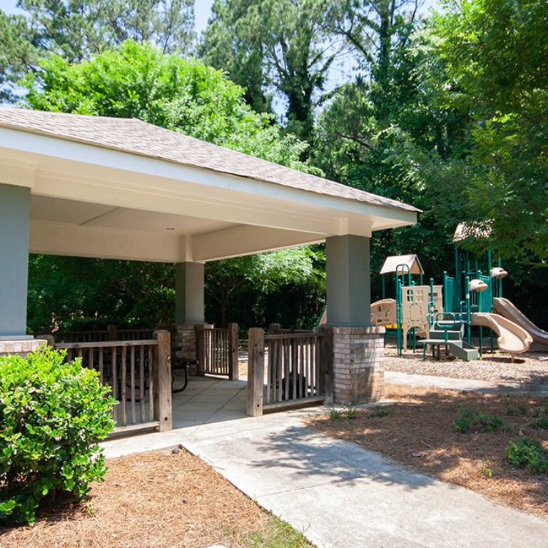 Gazebo at Park Commons Apartments Community - Senior Apartments in Atlanta, GA