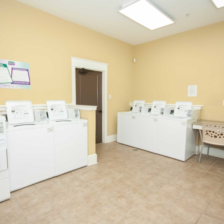 Laundry facility at Park Commons Apartments Community - Senior Apartments in Atlanta, GA