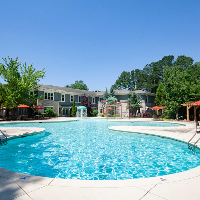 Pool at Park Commons Apartments Community - Senior Apartments in Atlanta, GA