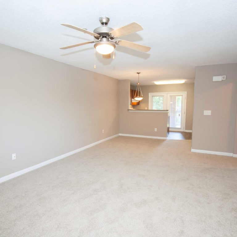 Living space at Park Commons Apartments Community - Senior Apartments in Atlanta, GA