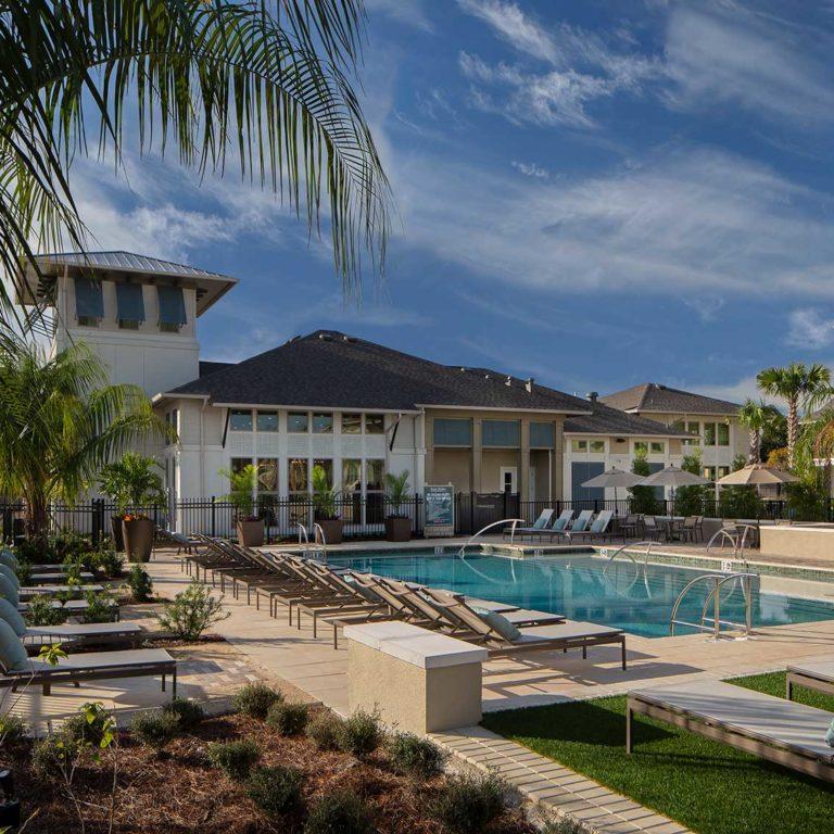 Pool deck at Pendana West Lakes - Orlando, FL