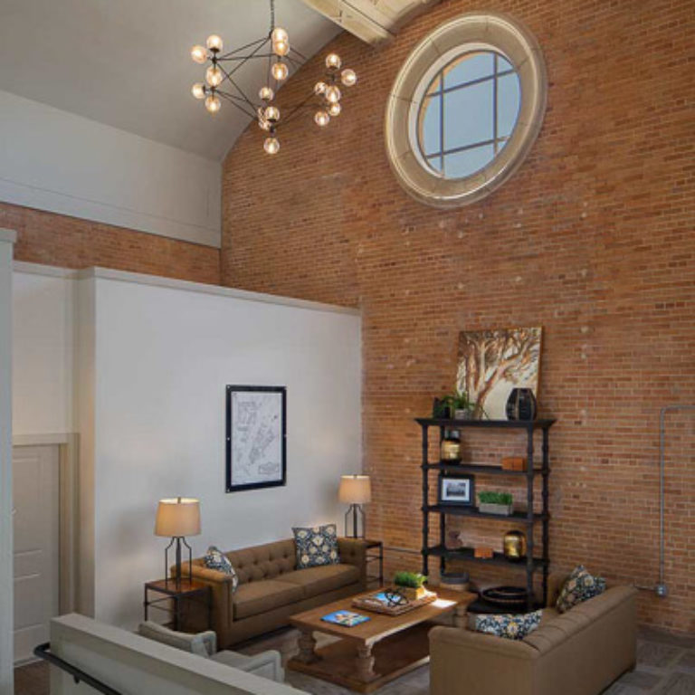 Community room at Sacred Heart at St. Bernard - Apartments in New Orleans, LA