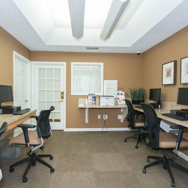 Business center at Columbia Village - Apartments in Decatur, GA