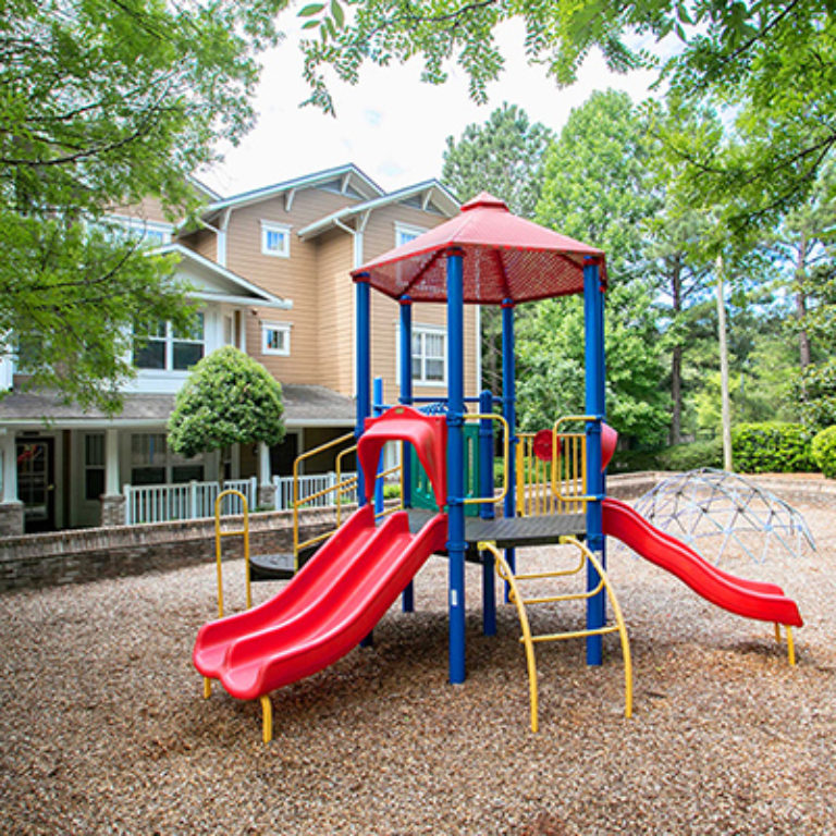 Community Playground at Columbia CitiHomes - Apartments in Atlanta, GA