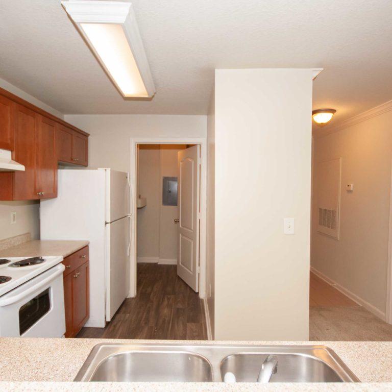 Kitchen interior at Columbia Peoplestown - Apartments in Atlanta, GA
