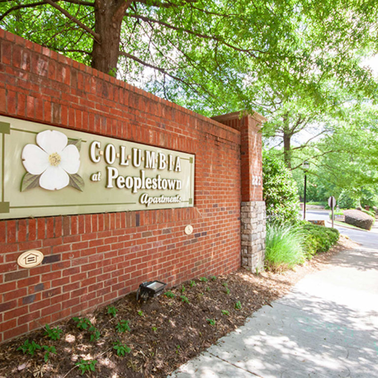 Community Signage at Columbia Peoplestown - Apartments in Atlanta, GA