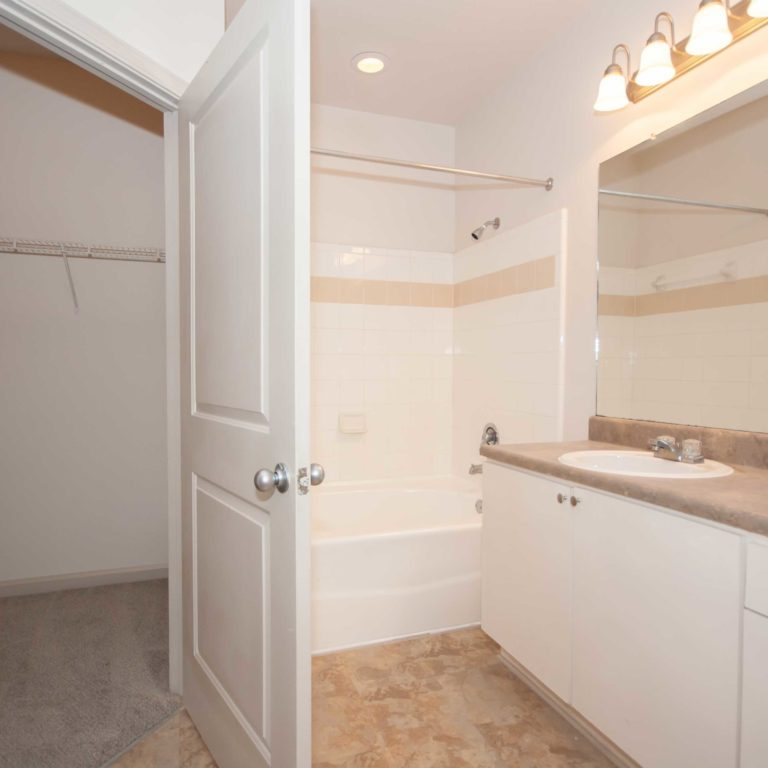 Interior bathroom at Columbia Grove Community - Apartments in West Midtown Atlanta, GA