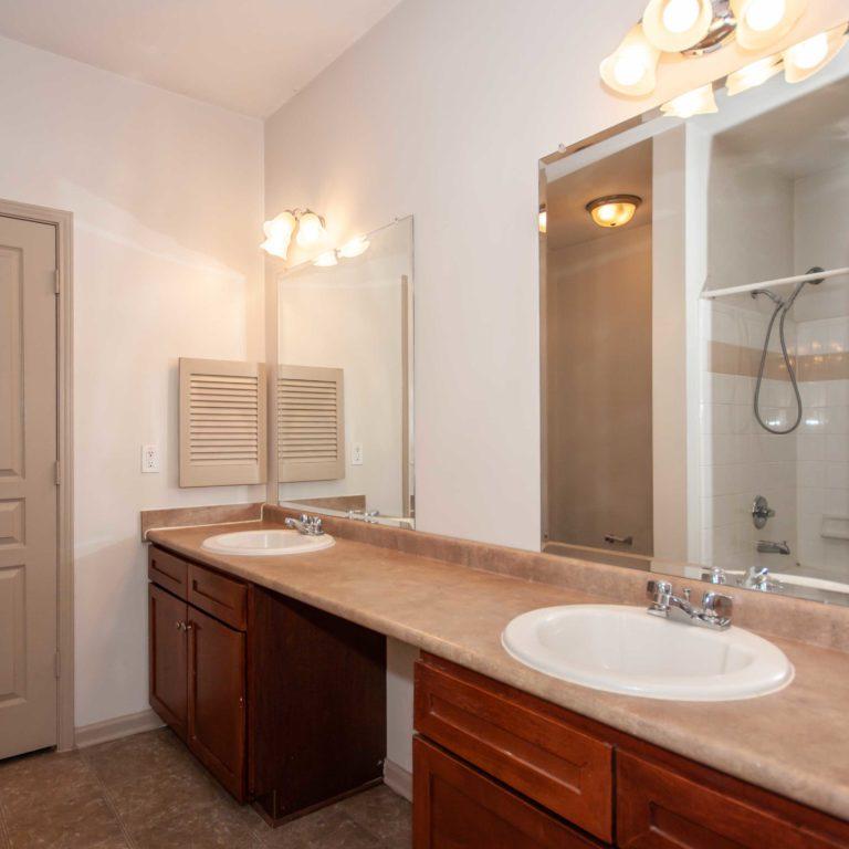 Interior bathroom at Columbia Estates Community - Apartments in West Midtown Atlanta, GA