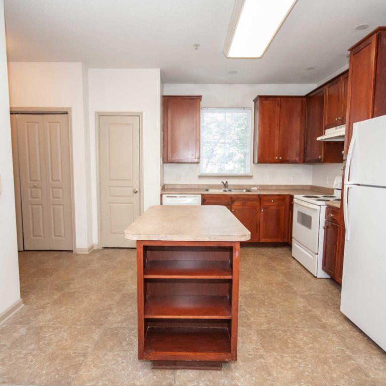 Interior Kitchen at Columbia Estates Community - Apartments in West Midtown Atlanta, GA