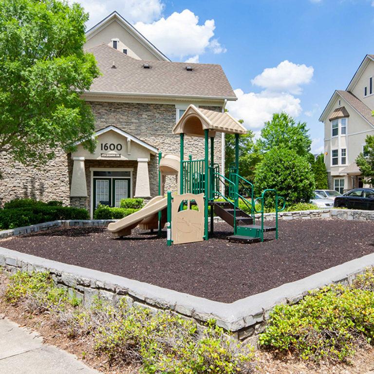 Playground at Columbia Estates Community - Apartments in West Midtown Atlanta, GA