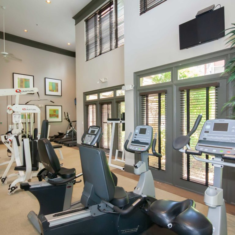Fitness center at Columbia Grove Community - Apartments in West Midtown Atlanta, GA