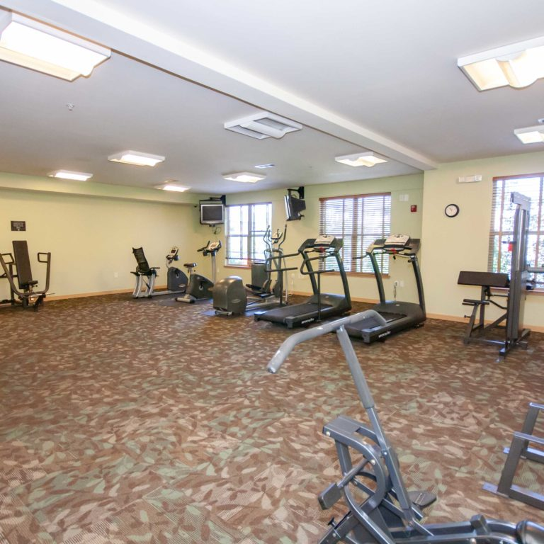Fitness center at Columbia Heritage Senior Residences - Apartments in Atlanta, GA