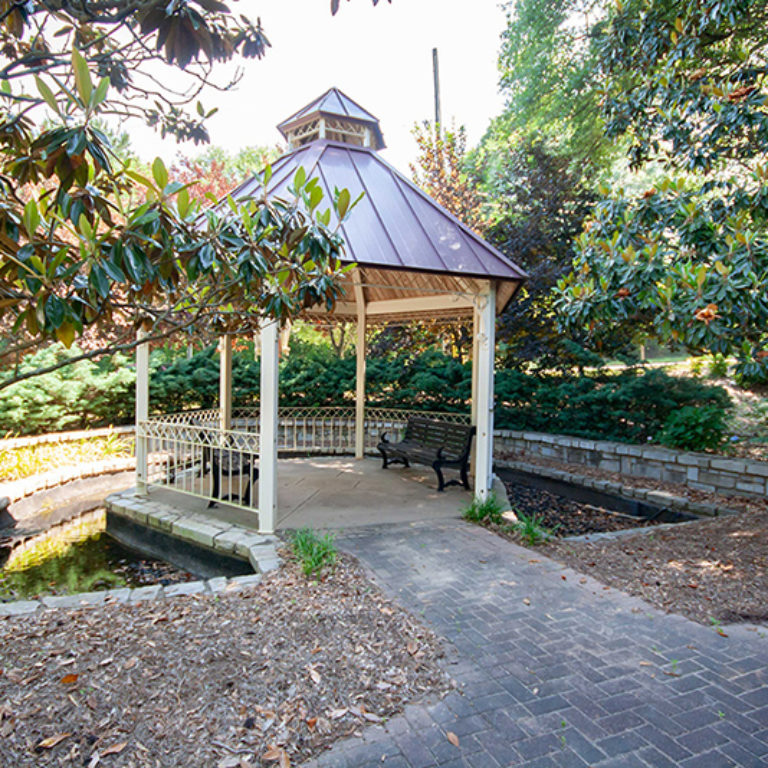 Gazebo at Columbia Heritage Senior Residences - Apartments in Atlanta, GA