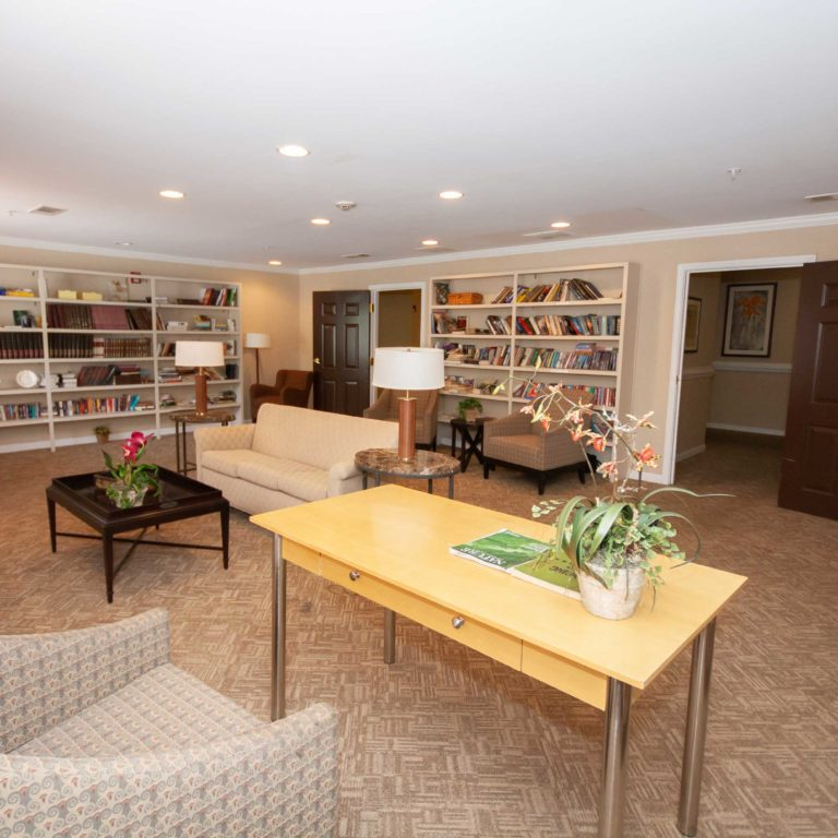 Library at Columbia High Point Senior Residences - Apartments in Atlanta, GA