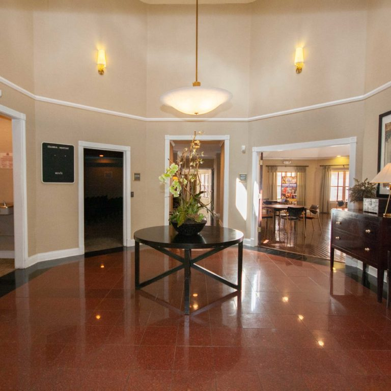 Lobby at Columbia High Point Senior Residences - Apartments in Atlanta, GA