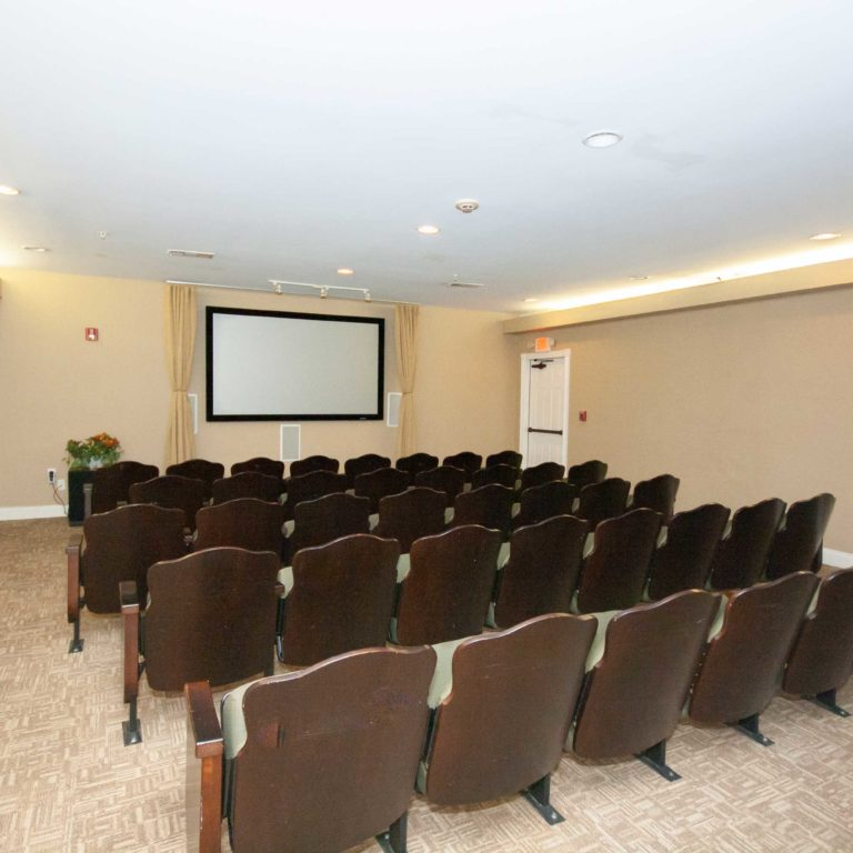 Community theater at Columbia High Point Senior Residences - Apartments in Atlanta, GA