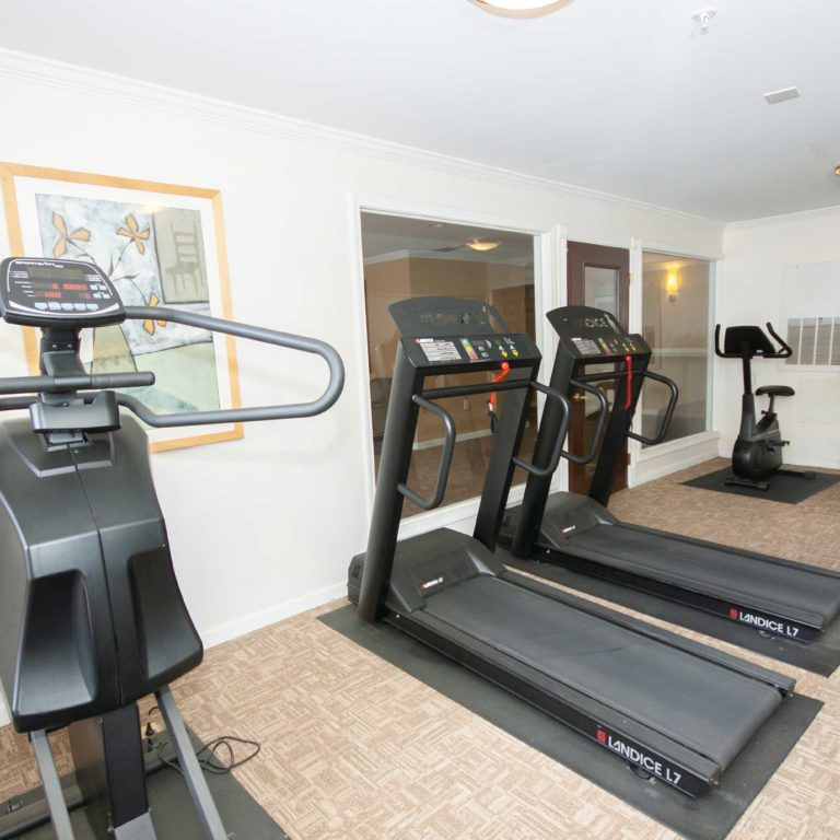 Fitness Center at Columbia High Point Senior Residences - Apartments in Atlanta, GA