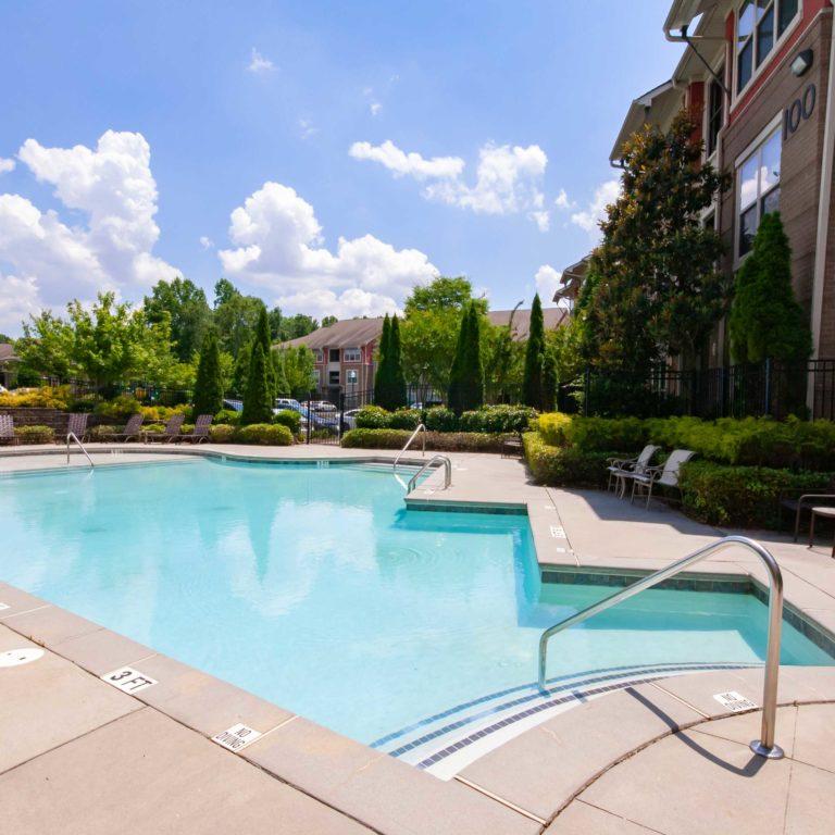 Pool at Columbia Grove Community - Apartments in West Midtown Atlanta, GA